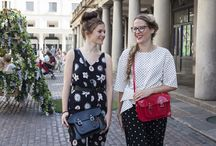 Melissa X The Cambridge Satchel Company. / Our Street Style shoot around Covent Garden; featuring our brand new Melissa collaboration and three very stylish members of our team.