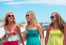 Girlfriend Getaways in Alabama / Looking to have some fun with just the girls? Come on down to the Orange Beach and Gulf Shores Alabama area to find true relaxation and reconnect with nature and your friends! With so many great activities and adventures you'll have fun making new memories and reminding yourself just how lucky you are to have such great people in your life!