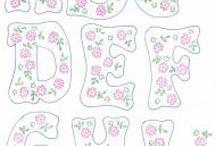 patrones letras