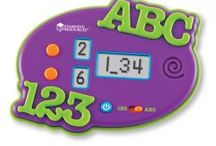 Alphabet and Numbers / Beginning at a very young age with phonics and phonemic awareness, children absorb the sounds of the letters and words that we use. Early practice of letter recognition, short and long vowels, and proper grammar usage helps children with reading fluency and comprehension when they learn the skills in a school setting. There are so many items available that have long term benefits in the area of language. / by Educate With Toys