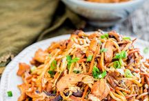 low mein and Chinese recipes
