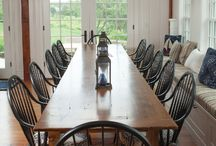 Dining Spaces  / Dining room ideas.