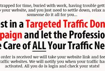 Targeted Traffic Done4U Crazy Low Prices