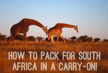 Travel & Packing / How to pack for any type of trip - from safari's to city trips - and everything in between