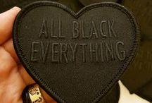 All black clothing