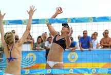 DO AC Pro Beach Volleyball Invitational / Atlantic City's sun-filled beaches extended the summer with the DO AC Pro Beach Volleyball Invitational from Sept. 6 - 8. The Atlantic City Alliance (ACA) partnered with global sports and media company IMG to host the prestigious Invitational as the fourth stop on the 2013 AVP Tour, putting on the only world-class pro beach volleyball vent on the east coast this summer and one of the most competitive beach volleyball tournaments of the year.  / by DO AC