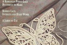Romanian ,Venetian point lace