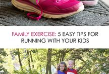 Health and Exercise Tips / Ways to keep active with your little. Includes exercise and healthy eating tips!