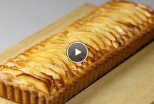 taarten of ander gebak, sweets, tarte, pie