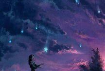 wishing girl