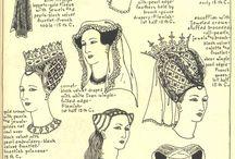 Coiffures médiévales femmes