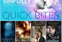 M/M QUICK BITES 2016 / As M/M Reviewers, between us we have read thousands of m/m romance novels over the years and we would like to share our favourites with you, those reads that have been 4+ stars for us. So every Monday we bring you our Quick Bites, short reviews of our recommended reads. Keep track of all our Quick Bites here -> http://bit.ly/1OBVjYo