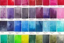 Aquarelle palette