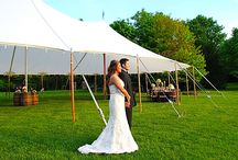 New England Style Wedding / Our Sailcloth Tents lend themselves brilliantly to a New England style wedding, here are some of our ideas!