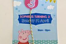 {PERSONAL} SJ 3RD PEPPA PIG PARTY