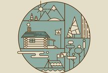 Icon Design / Icons and simple illustrations aiming to represent something / by Alanna Munro