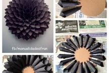 Black cone wreath