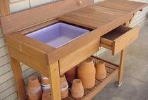 Potting Bench & Sheds