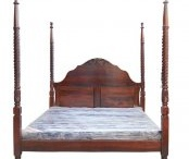 Wooden Beds - Induscraft.com / Beautiful handcrafted wooden bed online. Buy with free shipping across india. Bed, bedroom set, chest drawers, side table etc.  / by Induscraft.com