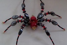 Beaded Spiders & Bugs