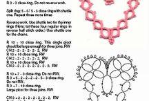 Hearts / tatting