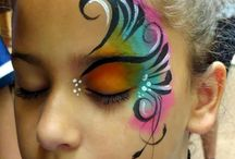 disco face paint