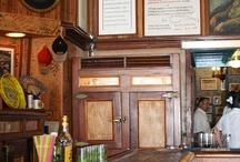 beautiful cafes, bistros, bars...