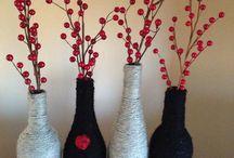 wine bottles for crafts.