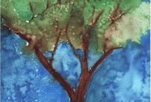 Tree art projects