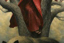 big bad wolf / #wolf #art