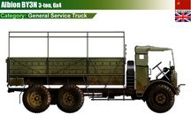 Modeling military vehicles