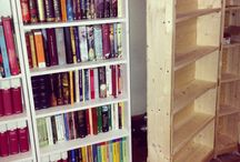 Libreria - book storage / Libreria modulare nel sottoscala e librerie varie