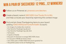 SKETCHERS Give Thanks Pin to Win / by Denise Rice