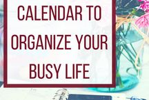 Productivity and Planning / Productivity Tips, Planning and Planners, How to Organize your Life and your Time