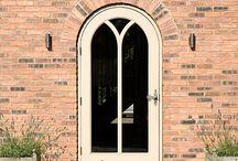 Highfield House, Venables Oak Project. / Highfield House, Venables Oak Project. Oak doors, kitchen, staircase, joinery. #oak