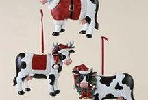 Cow Christmas Stuff