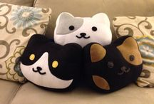 Kawaii Plush and Pillow