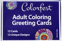 Colorfest Coloring Cards / Please inspire others by sharing your finished card creations from the Colorfest Card Collection to our community gallery. For an invite to post on this board email info@colorfestcrafts.com