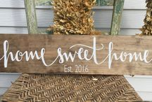 Rustic Signs For The Home