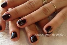 mes creations / ongles