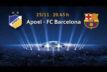 {FREE} Watch APOEL Nicosia vs.FC Barcelona Live Stream Online | UCL | 11/25/2014
