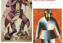 exposition de Chagall à Malevitch