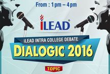 Glimpses Of Dialogic 2016 / Dialogic 2016, iLEAD's intra college debate is a super success event of the present year.