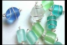 Caged beads