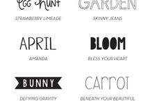 Fabulous Fonts / by Jennifer