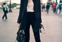 Style: woman in black
