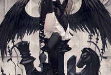 Anime Girl/Boy With Wings