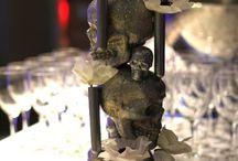 Deco bal des mariés 2014 - Gothique chic / Gothique chic en bleu roi et argent  à la Villa Brignac à Ollioules photos Sandrine S.
