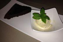 Les desserts / Les desserts, gâteaux, tartes maisons...