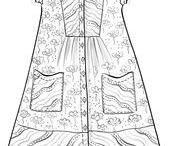 деревенская одежда
